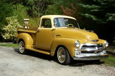 1954 chevy pickup--I need this someday.