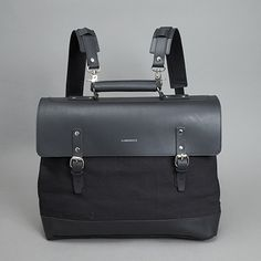 Sandqvist Jones Doctor Bag Black