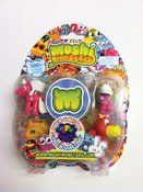 Moshi Monsters Moshlings - 5 Pack Collectables by Moshi Monsters Moshi Monsters love their little Moshling pets. The Moshi Monsters Moshlings - 5 Pack Collectables provides a nice variety of Moshlings for your little monster lovers. This 5 pack of Moshlings includes 4 Moshling characters such as Rocky, Tiamo, Flumpy, and Nipper; 1 hidden surprise Moshling, and a free in-game code to redeem online. One of your Moshlings could be ultra-rare. There are over 100 Moshlings to collect! Colle...