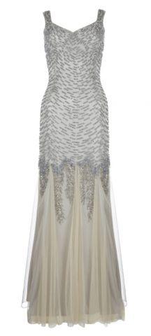 ARIELLA - Serafina Beaded Gown - Designer Dress hire