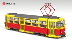 Tatra T3: A LEGO® creation by Denex-M (vk/ldd_club) : MOCpages.com
