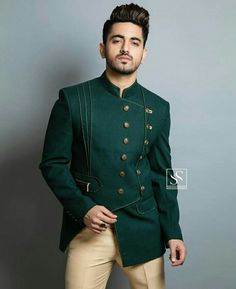 Masha Allah😎😘najar na lage😱 Wedding Dresses Men Indian, Wedding Dress Men, Wedding Suits, Desi Wedding, Wedding Gowns, Indian Men Fashion, Mens Fashion Suits, Mens Suits, India Fashion Men