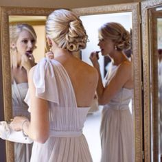 I Think It S Best To Have No Necklace With One Shoulder Dresses Just A Loose Dress Hairstylesformal Hairstyleswedding