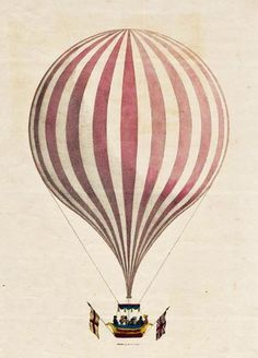 Early British & American Public Gardens & Grounds: Hot Air Balloons