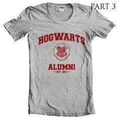 Part 3 - Hogwarts Alumni est 997 Heather Grey Women T-Shirt size S to 2XL tee - T-Shirts