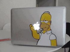 homer simpson funny stickers - Dump A Day The Simpsons, Simpsons Funny, Homer Simpson, Mac Book, Really Funny Pictures, Cool Pictures, Dump A Day, Funny Stickers, Laptop Stickers