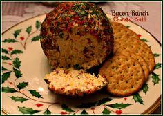 Sweet Tea and Cornbread: Bacon Ranch Cheese Ball!