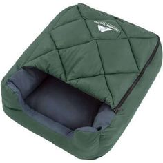 Ozark Trail Dog Sleeping Bag, Green Image 2 of 3 Diy Dog Bed, Cool Dog Beds, Best Dog Food, Best Dogs, Sleeping Dogs, Sphynx, Pet Beds, Diy Stuffed Animals, Dog Toys