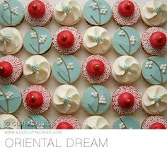 Chinese new year cupcakes  http://patricialee.me