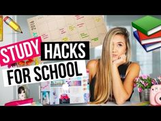 DIY STUDY HACKS FOR SCHOOL: Organization & Homework Tips! | LaurDIY - YouTube