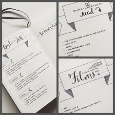 "292 Likes, 4 Comments - Katia Moffatt (@grey.and.copper) on Instagram: ""Getting my #bulletjournal up and running with my #2016goals for life, hobbies & work with a space…"""