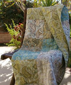 Another great find on #zulily! Vintage Paisley Throw Quilt by Greenland Home Fashions #zulilyfinds
