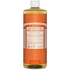 Dr. Bronner's 18-in-1 Hemp Pure Castile Soap (Tee Tree) (32 fl. oz. )