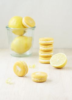 Lemon Mascarpone Macarons are the ultimate macaron for lemon lovers: the puckery flavor of lemon is perfectly balanced by the rich and creamy mascarpone.