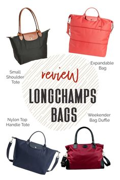 Are Longchamps the best travel handbags? I turned to a trusted group of avid female travelers (the women on TFG's Facebook group, of course!) and asked what they thought of these handbags for travel. This is what they had to say, find out! #TravelFashionGirl #TravelFashion #TravelTips #womensfashion #fashionoutfits #fashionaccessories #traveltips Travel Handbags, Small Bags, Longchamp, Travel Style, Gym Bag, Travel Tips, Fashion Accessories, Good Things, Tote Bag