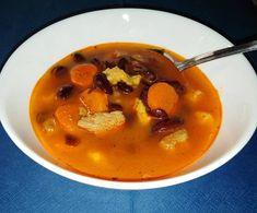 Hamis babgulyás Thai Red Curry, Ethnic Recipes, Food, Essen, Meals, Yemek, Eten