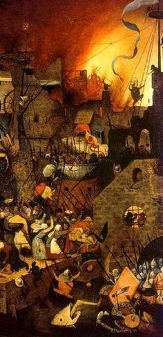PIETER BRUEGHEL the Elder - Flemish (Breda ca.1525-1569 Brussels) - Dulle Griet (Mad Meg)