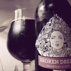 Mmmm. Lovely.   Broken Dream Breakfast Stout from Siren Brewery of Berkshire.