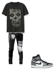 """""""Untitled #1"""" by ajdinpolo ❤ liked on Polyvore featuring Any Old Iron, Gap, NIKE, men's fashion and menswear"""