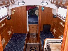 DIY V-berth  drawers http://www.sailboat-interiors.com/ http://www.sailboat-interiors.com/store