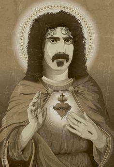Sacred Heart of Frank Zappa by Steve Czapiewski