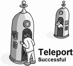 how to make a teleportation machine