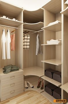 Oppein Australia Project Melamine Wood Storage Bedroom Closet picture from OPPEIN Home Group Inc. view photo of Closet, Bedroom Furniture, Wood Closet.Contact China Suppliers for More Products and Price. Dressing Room Closet, Wardrobe Design, Modern Bedroom Design, Master Bedroom Closet, Home Room Design, Awesome Bedrooms, Small Master Bedroom, Clothes Cabinet, Bedroom Design