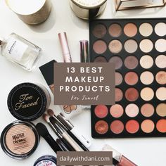 Best Makeup For Travel: 13 Products You Need
