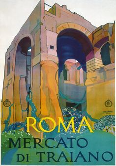 Vintage Italian Posters- Attractive Vintage Italian Travel Posters from Vintage Poster Classics. Authentic European Posters from France, Italy, etc. Poster Retro, Poster Ads, Advertising Poster, Vintage Italian Posters, Vintage Travel Posters, Vintage Advertisements, Vintage Ads, Rome Antique, Tourism Poster