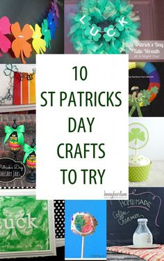 10 St. Patrick's Day Crafts To Try