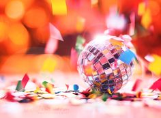 Party Time! by FurImmerUndEwig #macro #photography #party #confetti #festive #light #sparkle #beautiful #colour