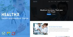 HealthX - Health and Medical Theme by KlbTheme Healthx is a Retina Display Ready Onepage Health and Medical WordPress Theme built with HTML5 & CSS3. It is perfect for health and