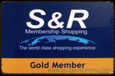 S&R Membership Shopp