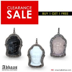#Stock #Clearance #Sale Buy 1 Get 1 Free #Buddha #Pendant #BlackOnyx #WhiteOnyx #Rosequartz #WhiteDiamonds #DoubleRow #Diamonds #Buy #One #Get #One #Free #Wholesale #Online #Jewelry #Religious #Latest #Gift #Occasion #Multicolour #Trend #Curving #Handmade #Instock #Fastshipping #Abhaas #Jewels ABHAAS JEWELS CORP 7 West 45th Street, Suite-1501 New York, NY-10036 U.S.A WhatsApp: +91 9460292707 Tel : 212-704-4266 Email : enquiry@abhaas.com Skype: Jewelryabhaas