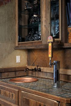 Kegerator Design Ideas, Pictures, Remodel, and Decor - page 9