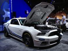 2013 #Ford #Mustang Cobra Jet Concept at SEMA