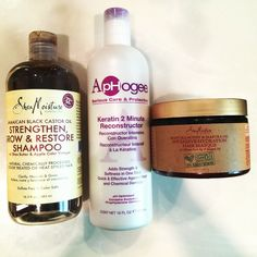 Clarify hair + protein treatment + deep condition...your hair will thank you. :)