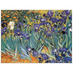 'Irises' by Van Gogh Painting Print