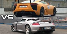 Porsche Carrera GT vs Lexus LFA : lequel de ces deux V10 chante le mieux?
