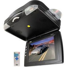 12.1'' Roof Mount TFT LCD Monitor w/ Built-In DVD Player