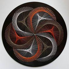 vinyl string art