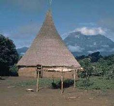 Choza indígena