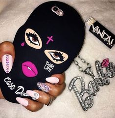 #dope Cool Iphone Cases, Best Iphone, Iphone Phone Cases, Iphone 8, Gangster Girl, Accessoires Iphone, All Iphones, Barbie World, Iphone Accessories