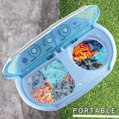 Pyle Compact & Portable Washer & Dryer, Mini Washing Machine and Spin Dryer Image 6 of 6 Portable Washer And Dryer, Compact Washer And Dryer, Mini Washer And Dryer, Camper Washer And Dryer, Apartment Washer And Dryer, Mini Washing Machine, Portable Washing Machine, Dryer Machine, Camping Equipment