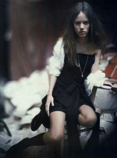 """A Woman of a Singular Charm"": Freja Beha Erichsen by Paolo Roversi for Vogue Italia"