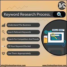 Keyword research is the process of finding and analyzing actual search terms that people enter into search engines. Learn keyword research process. Distribution Strategy, Seo Strategy, What If Questions, This Or That Questions, Keyword Planner, Seo Training, Seo For Beginners, Search Engine Marketing, Competitor Analysis