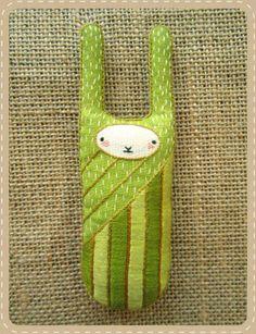 Kirikí Press {Bunny D.I.Y. Embroidered Doll Kit}