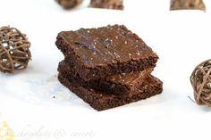 #Paleo/#Gluten-Free #Peanut #Butter #Brownies