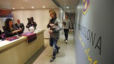 La llegada de los jugadores al Camp Nou | FC Barcelona