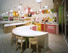 Espacios Cool para Niños  : abc kids   cooking school